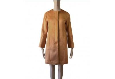 縫い代付き印刷済み型紙 3Maniellaノーカラー比翼開きコート