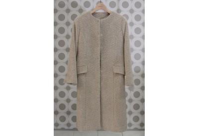 PDF型紙   衿なしベルテッドコート Jacky~ジャッキー