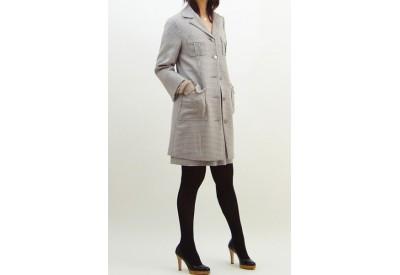 縫い代付き印刷済み型紙 テーラードロングジャケット 3Jella ~ジェラ
