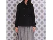 縫い代付き印刷済み型紙 3Tracy レディースショート丈Pコート