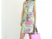 縫い代付き印刷済み型紙 シャツ地でつくる夏のノースリーブワンピース Leen~リーン