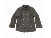 縫い代付き印刷済み型紙   ハイネックダブルブレストジャケット Blenda~ブレンダ