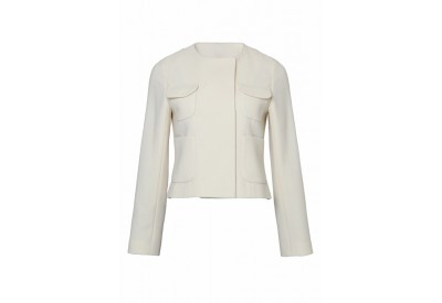縫い代付き印刷済み型紙  4ポケット、ノーカラーダブルブレストジャケット 2Catlan