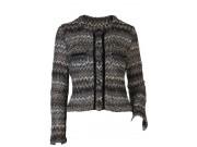 縫い代付き印刷済み型紙 ノーカラーカットソージャケット Cheryl ~シェリル