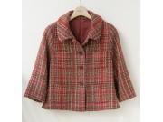 縫い代付き印刷済み型紙 4ポケット、ショートジャケット 2Sophie ~ソフィー