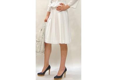 縫い代付き印刷済み型紙  フレアー車飛騨プリーツスカート、958