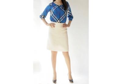 縫い代付き印刷済み型紙 台形セミフレアースカート Lois~ロイズ