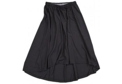 縫い代付き印刷済み型紙  イレギュラーヘムのゴムスカート 9Sloane