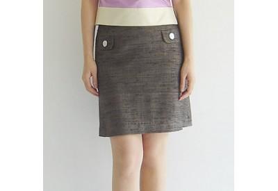 縫い代付き印刷済み型紙  Trillcotton 〜ヨーク切り替えミニスカート