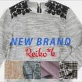 NEW BRAND Reiko*kをリリース!カットワンピ&生地の販売