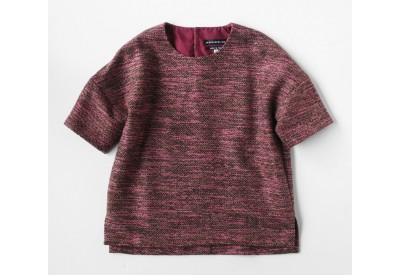 縫い代付き印刷済み型紙 6Quersh 布帛用ドロップショルダークロップドブラウス