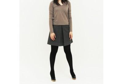 PDF型紙 Vネック長袖Tシャツ Margy