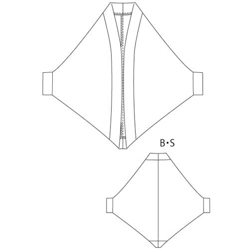 洋裁型紙 ボレロカーディガン 70012