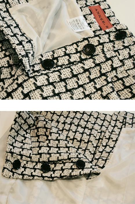 型紙通販、ダブルブレステッドスカート