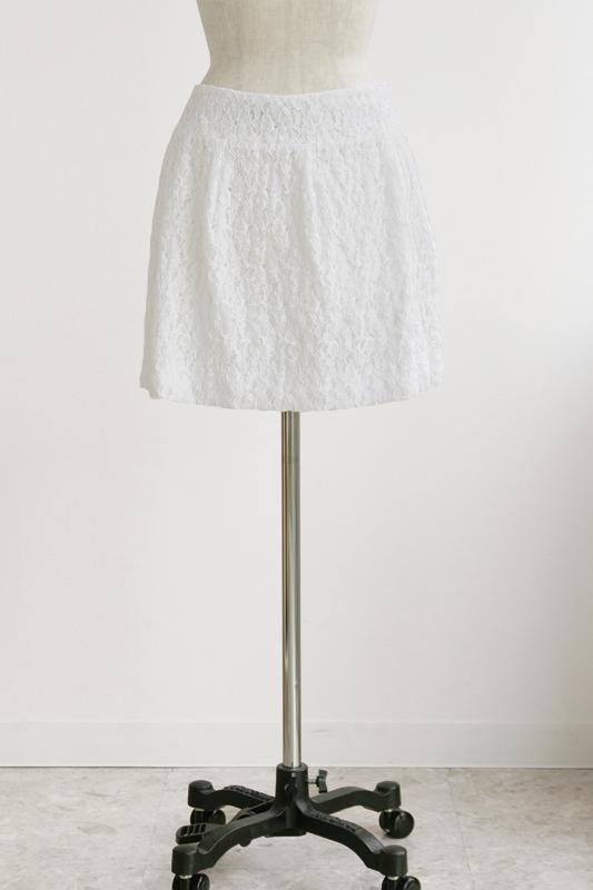 型紙通販、ヨーク切り替えコクーンスカート