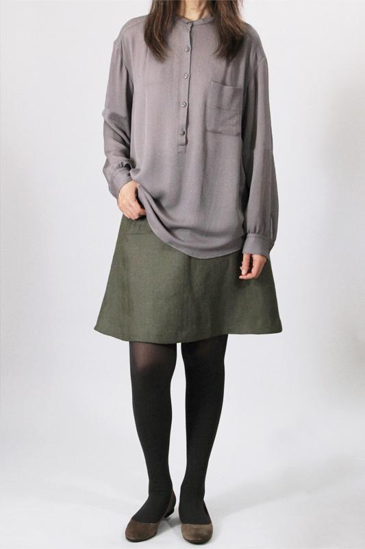 型紙通販 9Salley 台形フレアースカート