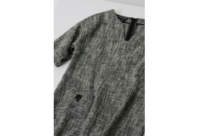 縫い代付き印刷済み型紙  ドロップショルダーシフトドレス 8Alina~アリーナ