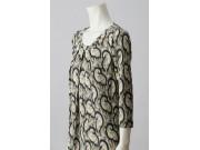 縫い代付き印刷済み型紙  8Sharon コクーンTシャツワンピース