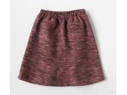縫い代付き印刷済み型紙  布帛用のウエストゴム台形フレアースカート 9Minnie
