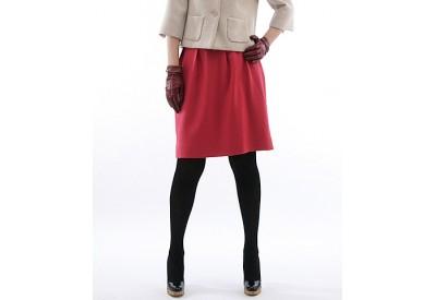縫い代付き印刷済み型紙 ヨーク切り替えコクーンスカート Paris~パリス